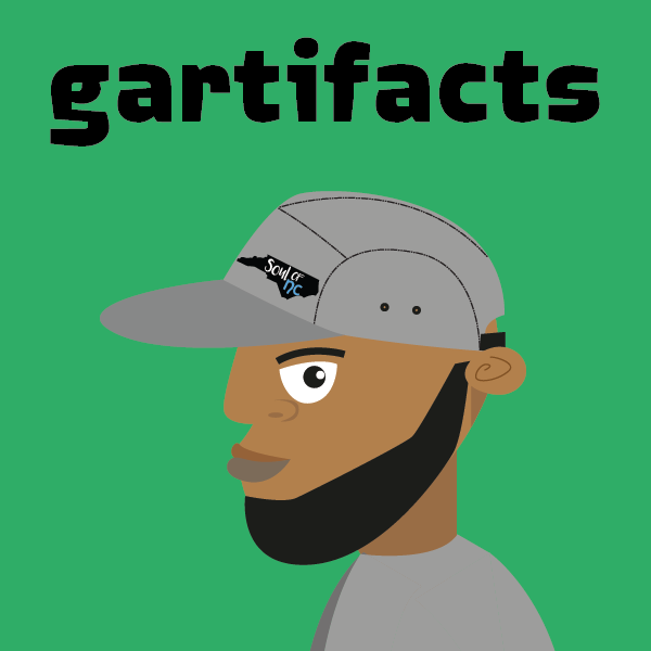 Gartifacts. Art and Stories by Garry Atkinson