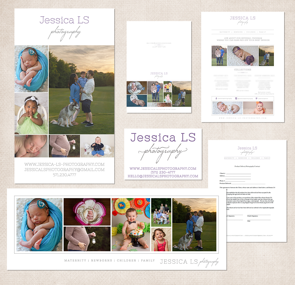Jessica LS Photography Woodbridge VA photographer 2015 Brand and Logo
