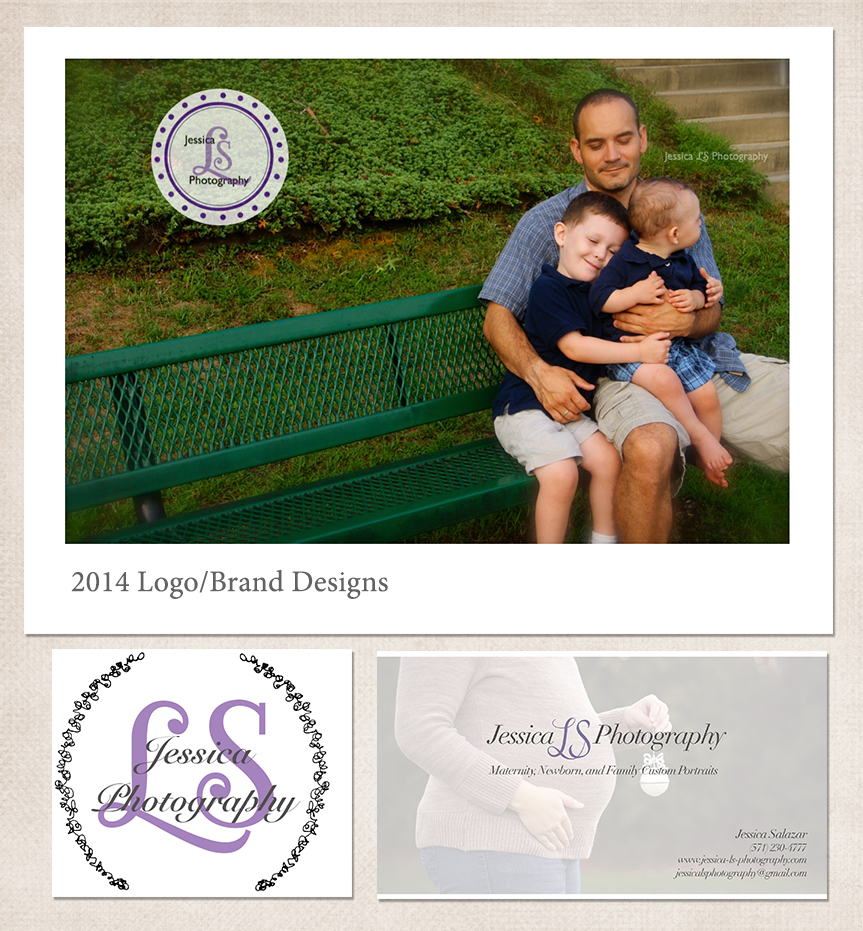Woodbridge VA Photographer Jessica LS Photography 2014 Brand and Logo