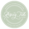 rising tide society member badge