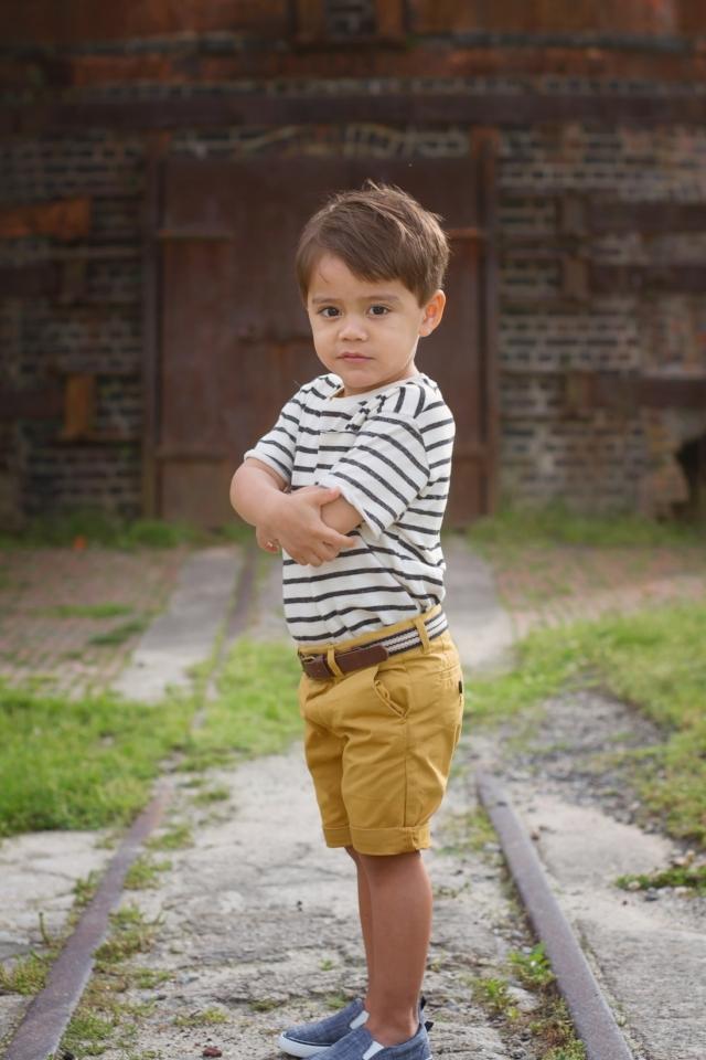 3 year old boy in Occoquan Regional Park