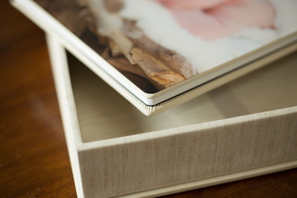 Rounded Corners on Fine Art Album