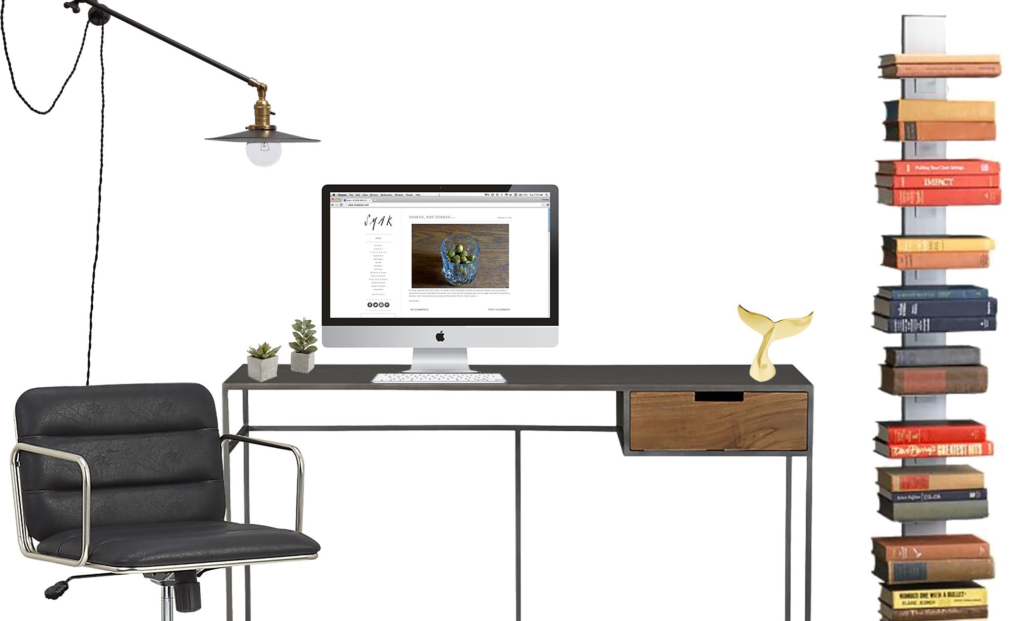 dream office cb2 office