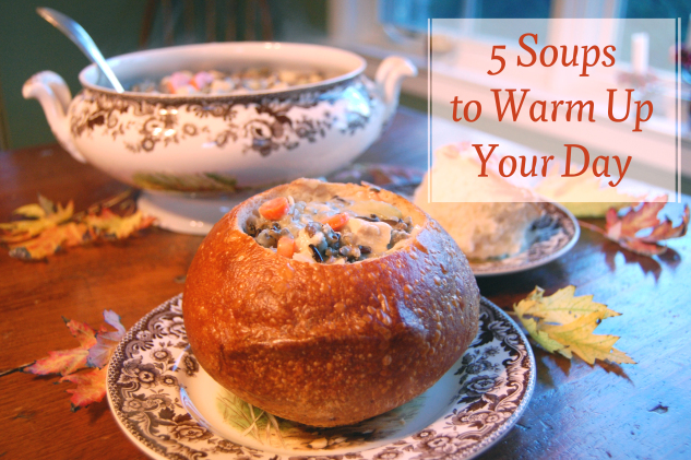 5 soups to warm up your day