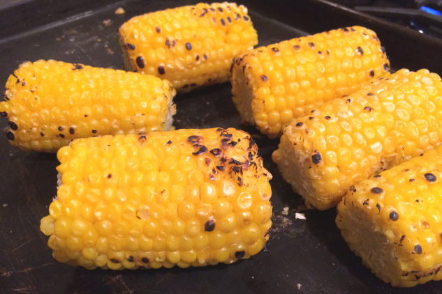 blackened corn