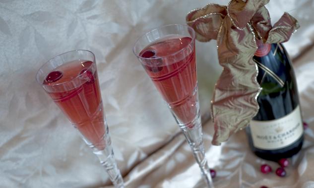 pomegranatechampagne