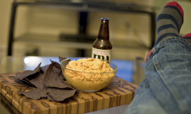 chicago food blog buffalo chicken dip 4