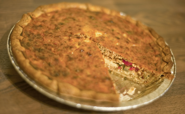 chicago food blog chorizo quiche 2