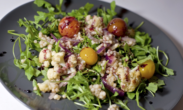 chicago food blog israeli couscous salad 5