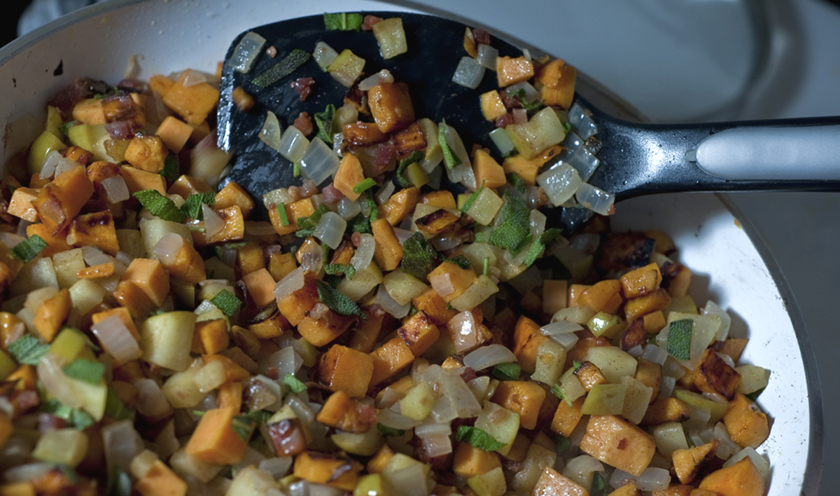 chicago food blog smak sweet potato hash 3