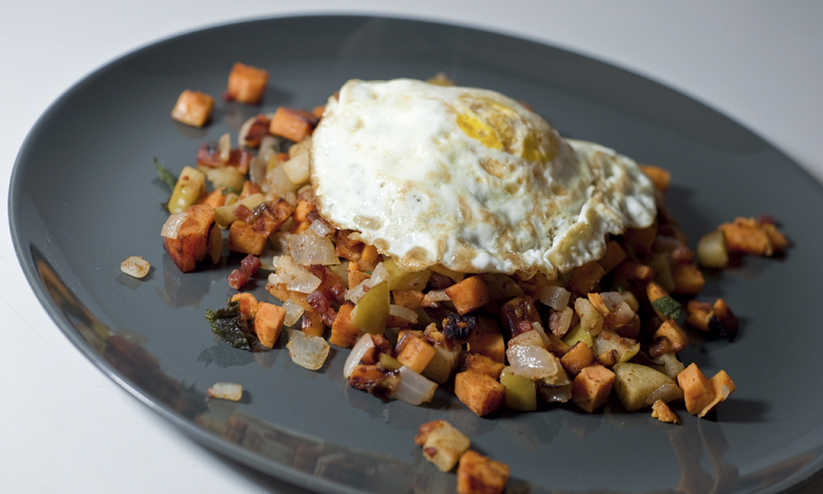 chicago food blog smak sweet potato hash 4