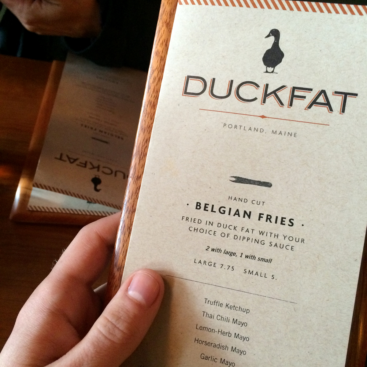 chicago travel blog duckfat portland maine 5