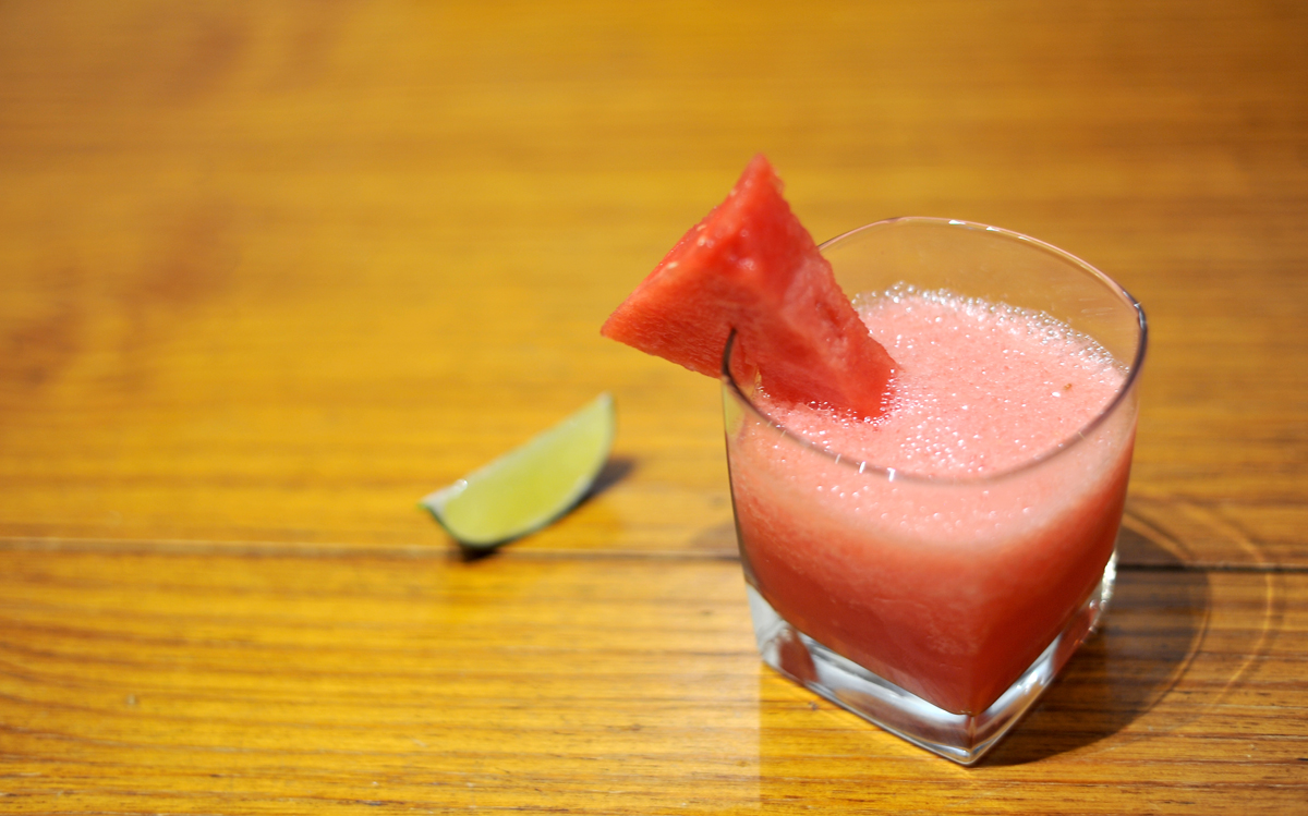 chicago food blog rum watermelon cooler 1