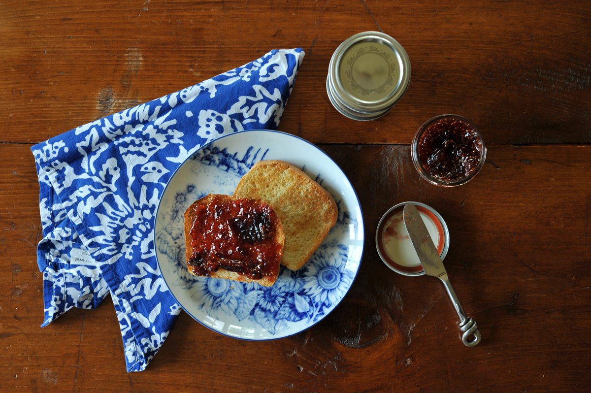 chicago food blogger fig earl grey jam 6