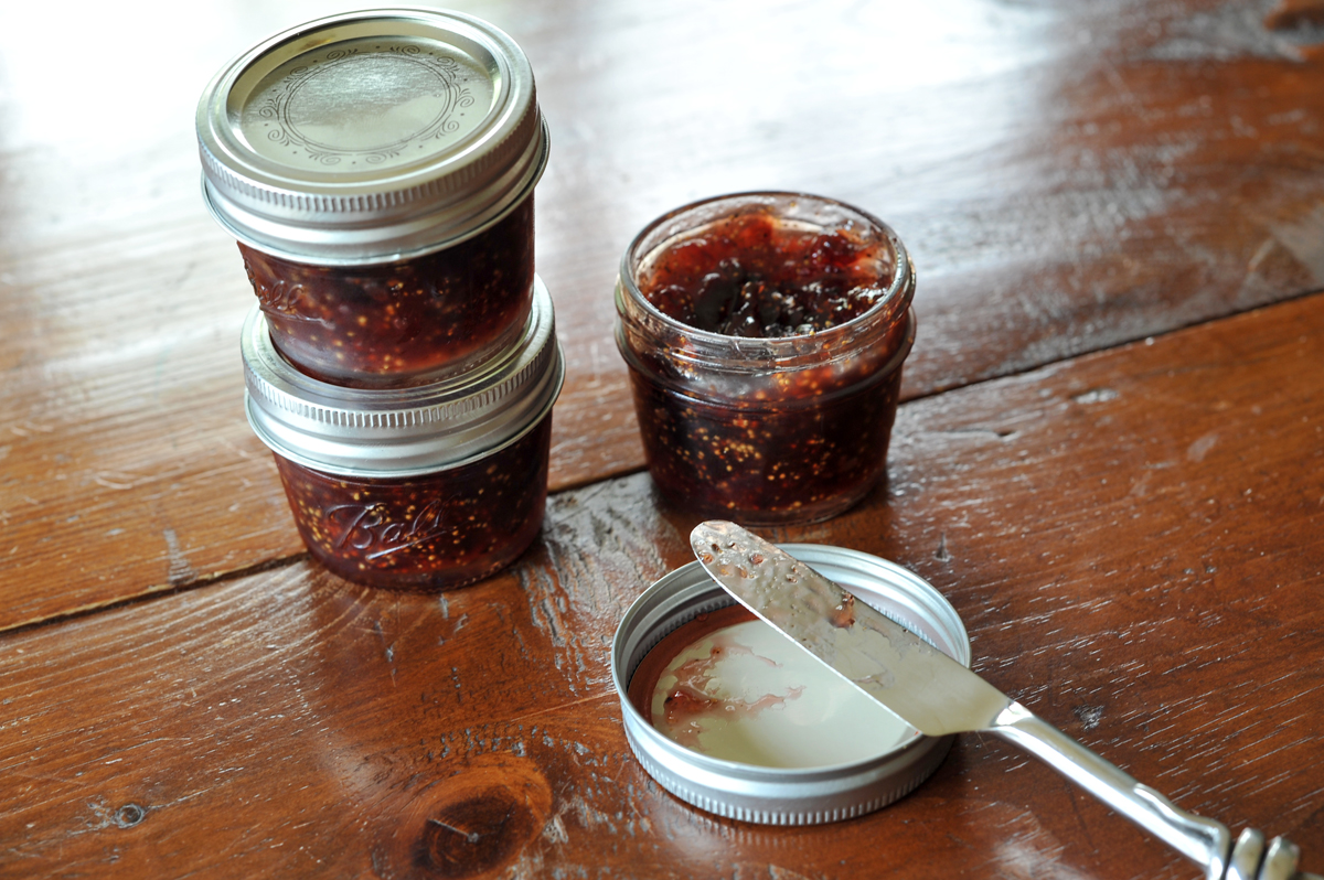 chicago food blogger fig earl grey jam 7