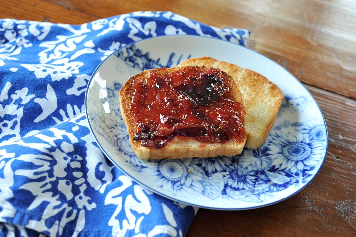 chicago food blogger fig earl grey jam 8