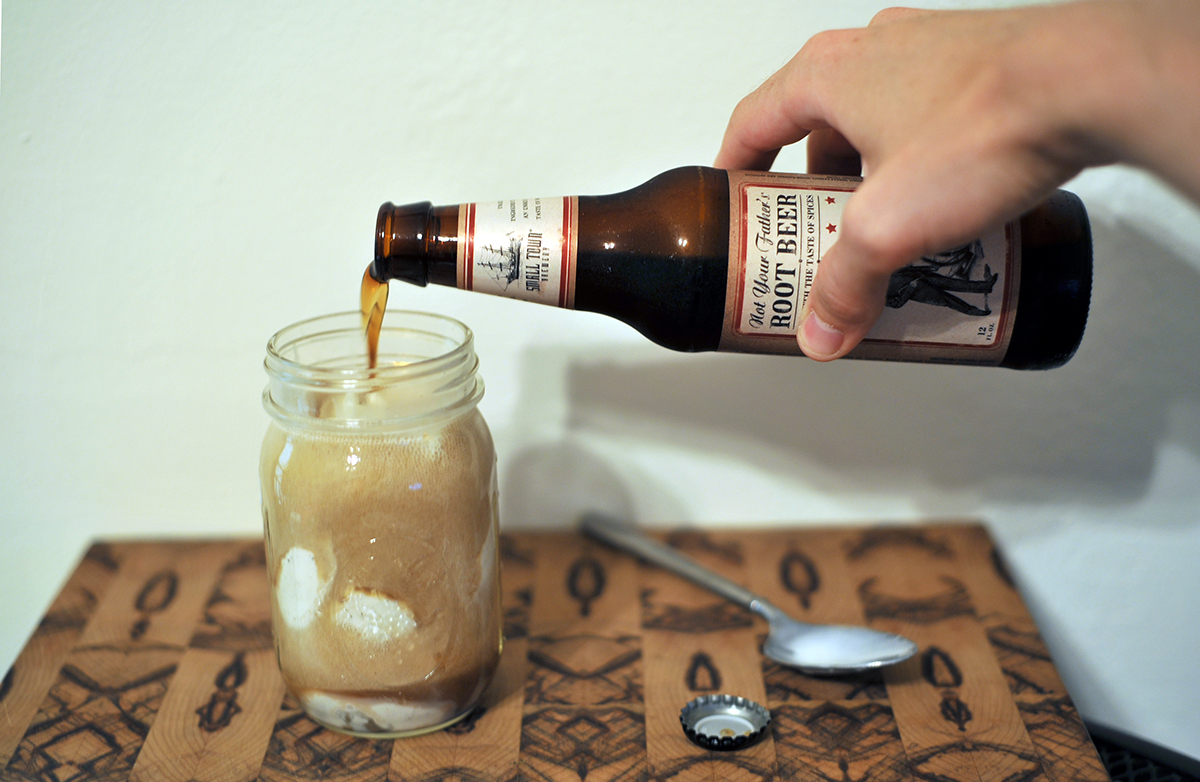 chicago food blog smak not your fathers root beer float 2