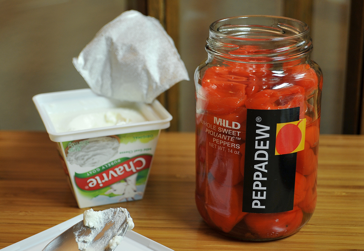chicago food blog chavrie stuffed peppadews 1