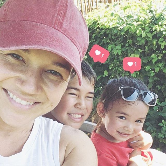 Crazy hot today and we made all the memories. 9 holes of golf (thank you Jesus for family-friendly courses) and then a couple hours at the pool. We're home now eating snacks and watching the rest of last night's movie. It's a good day ☺️ #chotallyawesomesummer #elijhcho #ellakcho #thecutestchosiknow #motherhood #momlife #familiesthatgolftogether