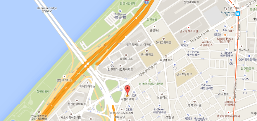 Find Us Jubilee Church Seoul
