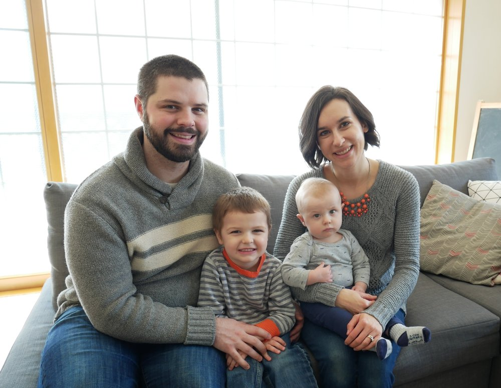 CLICK TO MEET THE Klejment-lavin FAMILY!