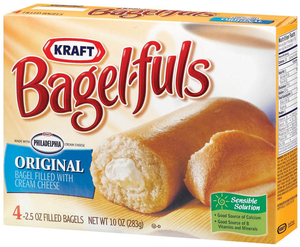 Frozen bagels