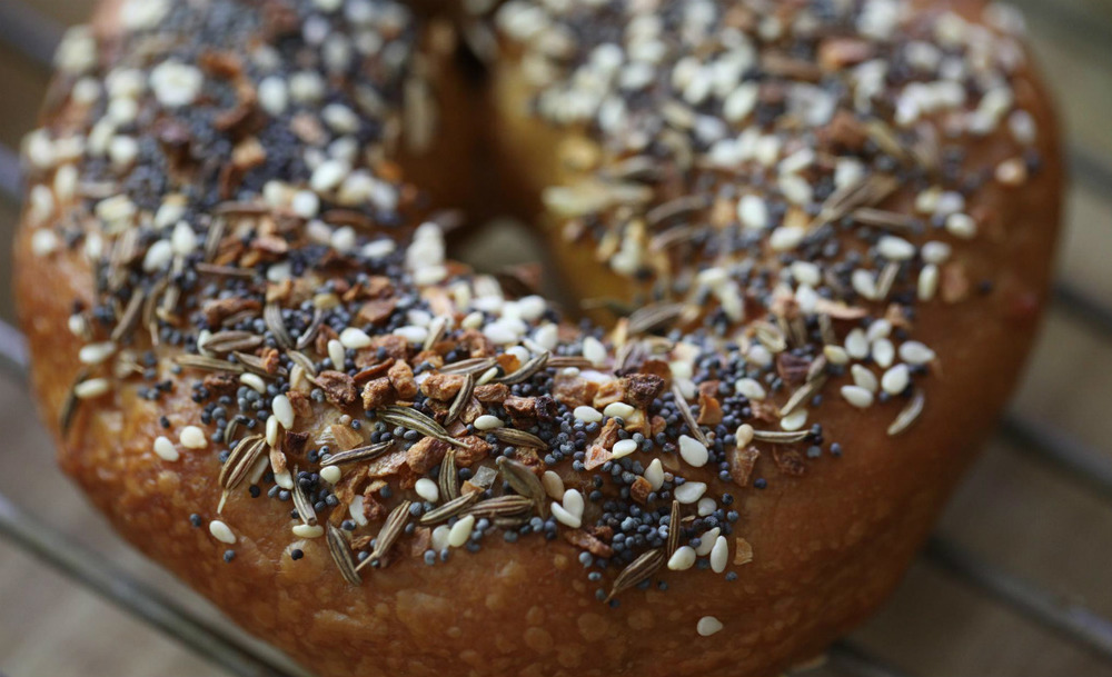 The Everything Bagel from Brooklyn Boy Bagels,Matraville