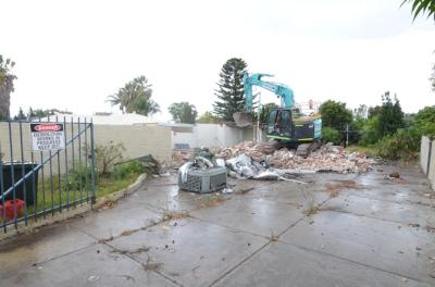 demolish and build
