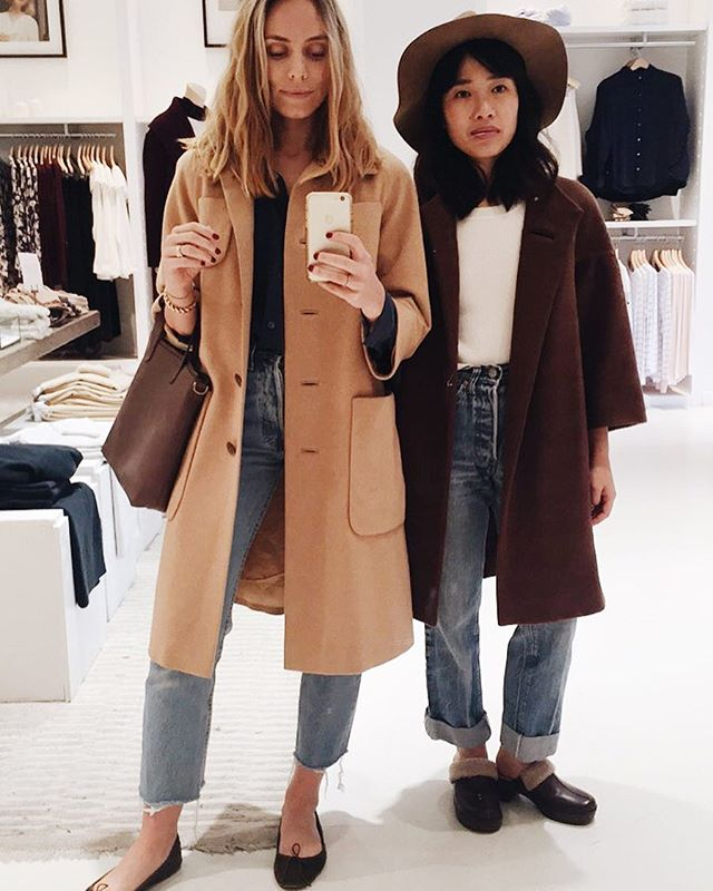 Finally we can wear coats. Sorta