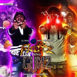 Flattz And Gunz Mixtape Cover
