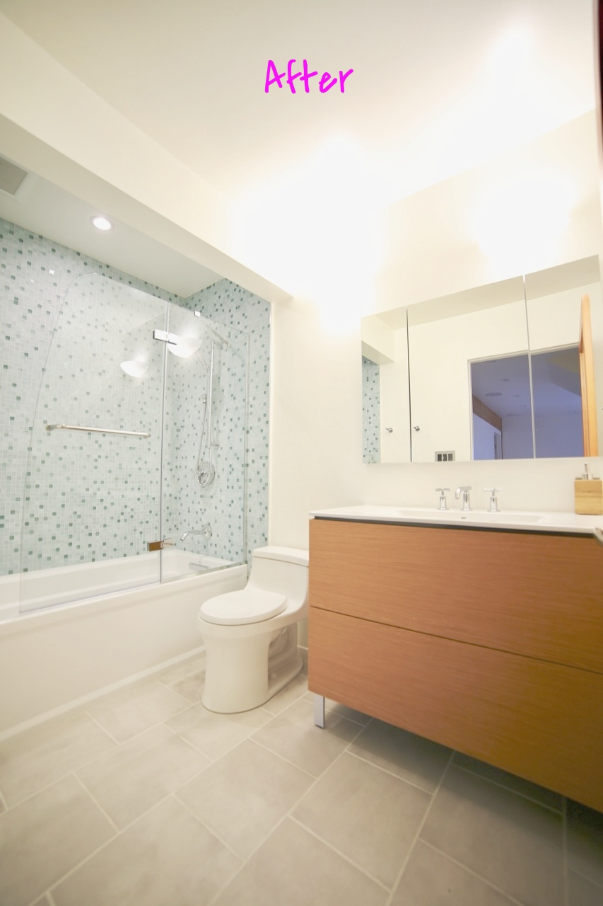 Bathroom: Before & After — Flourish Home LA