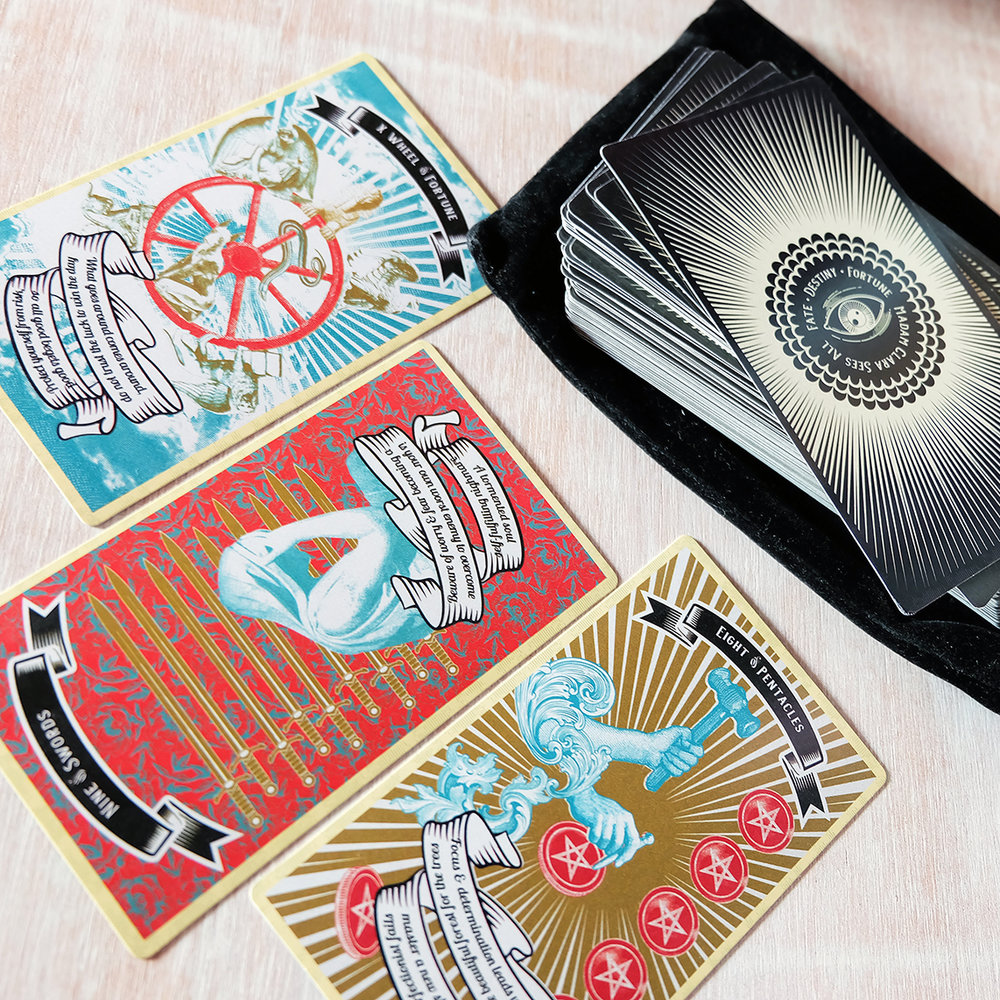 The Madam Clara Sees All Indie Fortune Teller Tarot (MotelGiftShop) is a mouthful but takes the pain out of reading reversals.