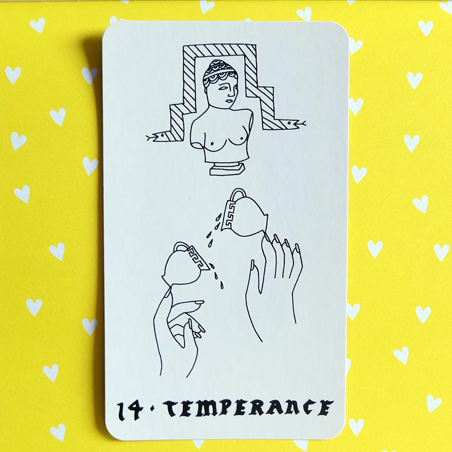 Deck used:  Small Spells Tarot  (Rachel Howe)