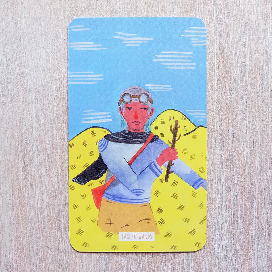 Deck used: Circo Tarot (Marisa dela Peña, Tightrope Press)