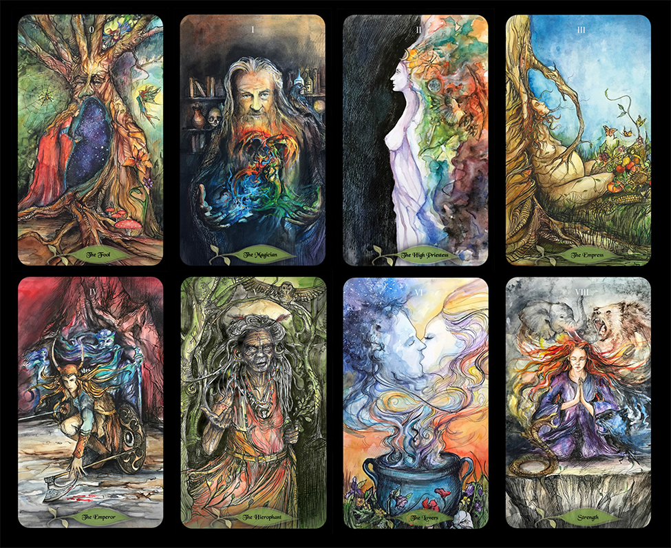 Photo: Bonestone & Earthflesh Tarot by  Avalon Cameron