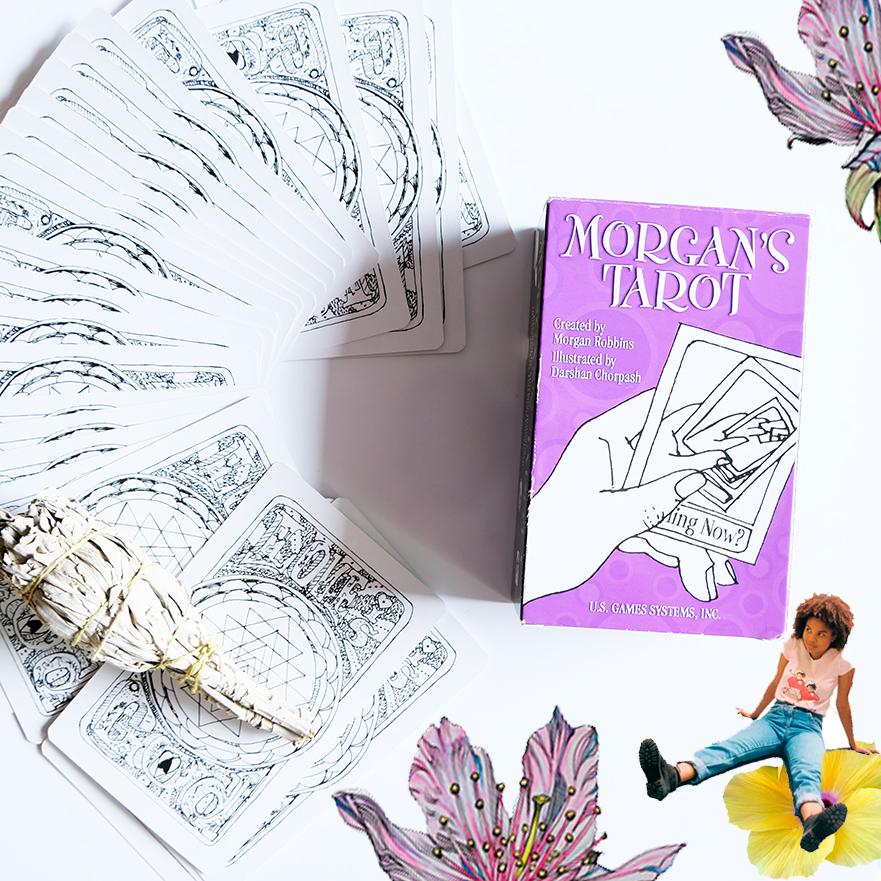Deck used:  Morgan's Tarot  (Morgan Robbins and Darshan Chorpash, US Games).