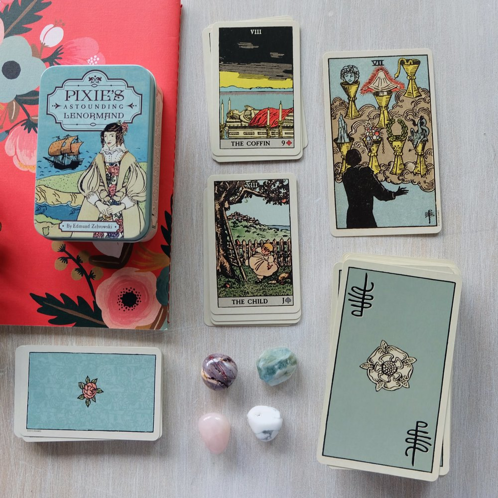 The Rider-Waite Smith: Tarot + Lenormand