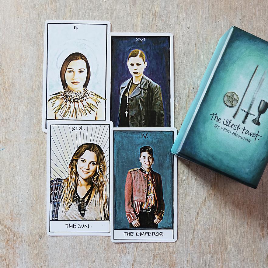 Deck:  The Illest Tarot  by Kristi Prokopiak