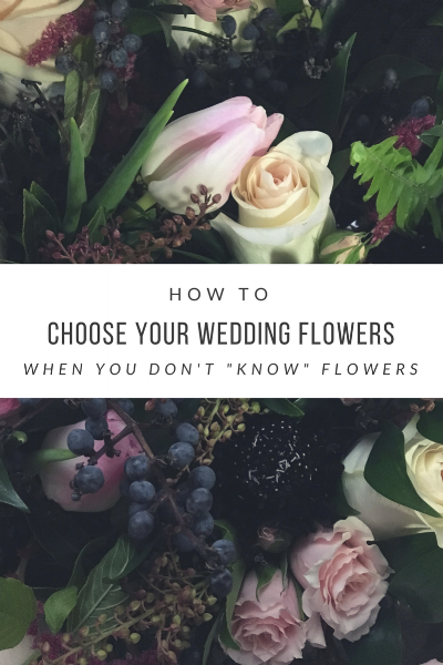 How To Choose Your Wedding Flowers When You Dont Know