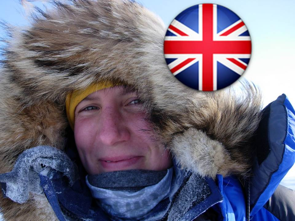 Felicity Aston - Expedition Leader