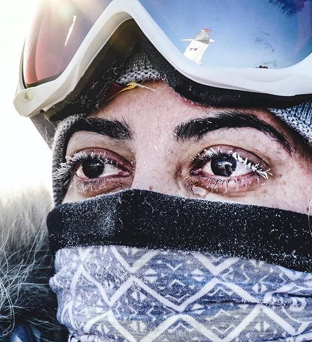 "#Repost from @renan_ozturk with @regram.app ... Tears froze to Misba's (@misbanorthpole) face as the cold hard realities kicked in of life at 89° N and the 10 day self-supported journey ahead to The North Pole. ~  At 50, she is the oldest member of the expedition. From the UK with Pakistani orgins, she has two kids age 20 and 24.  Before we left she told me she had worked so hard supporting her family for so long and loved that role but now really wants to do something for herself.  Back in Manchester, UK she works for a finance team at the North Manchester General Hospital. ""Within my work place I am one of a smallish proportion of ethnic minorities, which can be challenging sometimes especially due to the current world crisis and representation of certain groups in the western media."" She hopes that by joining this expedition she will form bridges between different cultures, encouraging women within and out of her community to gain new skills. She would ""like to show people that those from all abilities and backgrounds can get involved in activities that push themselves for their own self-development."" ~  As the helicopter flew away (see my stories), it left them in a gust of rotor wash amongst the white desert of moving pack. The lasting impression I had of this @kasperskylab @northpole2018 expedition was how each journey is so personal yet so universal and the more we share from these fringe experiences the more it can help the greater good. Thanks to all for this week and for being so vulnerable, strong and true! ~  @e_kaspersky @povel @atalthani @Intunetothesound @anisa.explorer @marmelade.jam @misbanorthpole @lameesNijem @idamalinolsson @dc43 @ollyru999 #steph #felicityaston #shemovesmountians #adventurenotwar #colab #northpole2018"