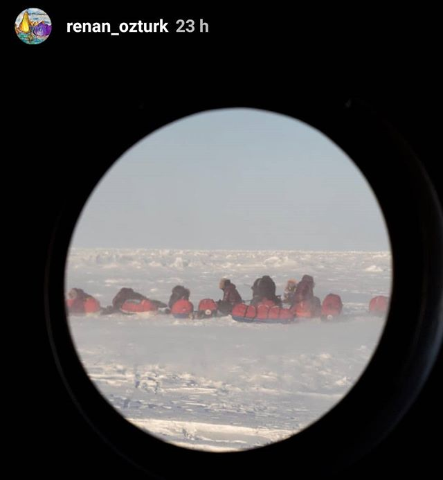 Repost: @renan_ozturk stories  Observing an expedition such as this from the outside is hard. How can we understand the cold, the risk, the hardship endured? How can we contextualize that with our own life and current experiences?  Thanks to @renan_ozturk we can glimpse into their experience and wonder at the strength of these amazing women!  #northpole2018 #northpole #renanozturk #arctic #arcticexplorer #polarexplorer #polarexpedition #climatechange #seaice #femaleadventurer #femaleexplorer