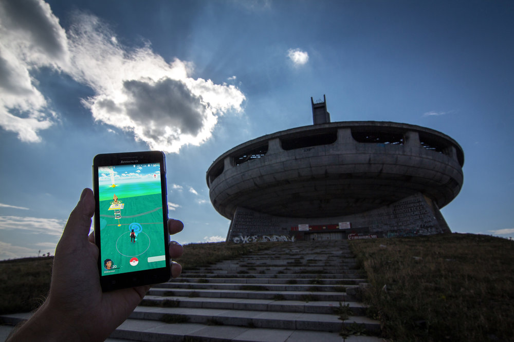 House-Monument of the Bulgarian Communist Party (Georgi Stoilov, 1981). Buzludzha Peak, Bulgaria.