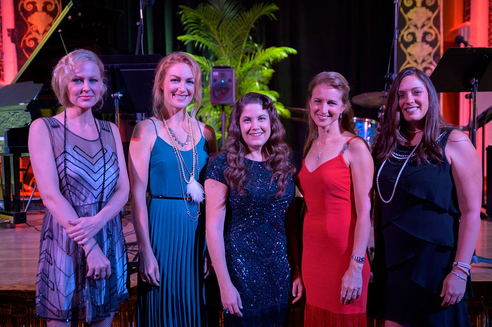 Night in New York - Host Committee   (from L to R)   Blair Updike, Katie Lippert, Erica O'Neill, Carrie Blackburn, Jennifer Lee