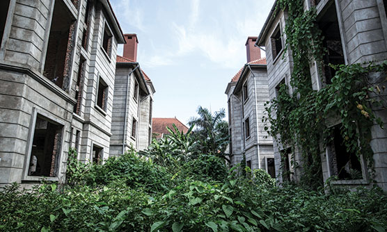 The suburban landscape of Hanoi. Photo: Julie Vola