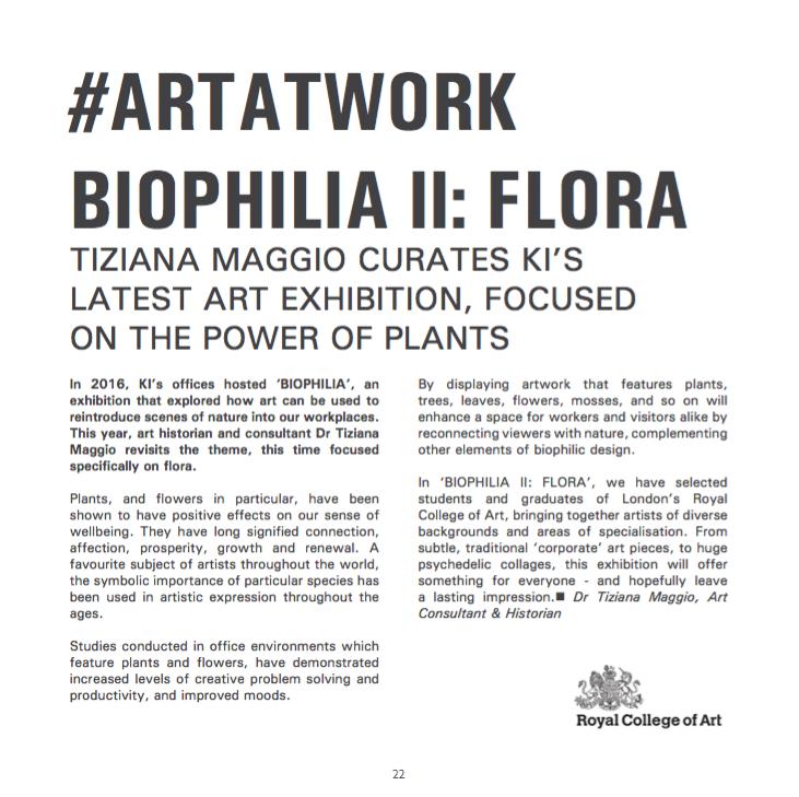 Tiziana Maggio Art Biophilia