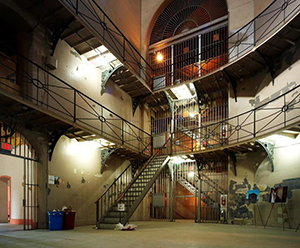 Main rotunda of the Don Jail (photo by Jonathan Goldsbie)