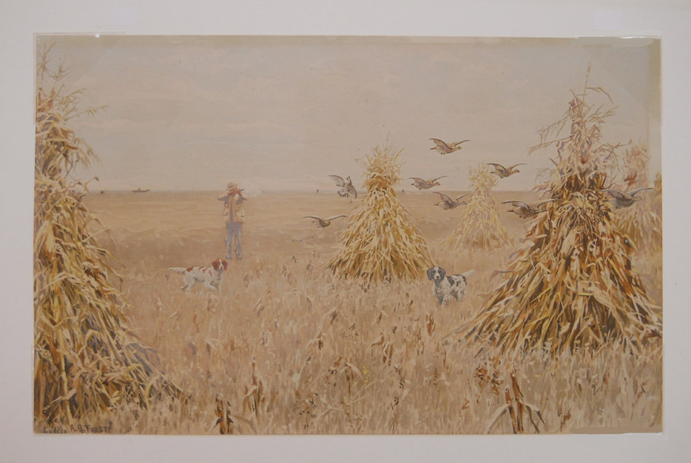 Prairie Chickens by A.B. Frost