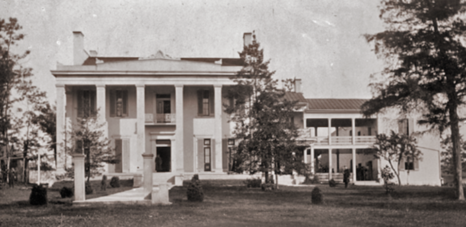 Belle Meade Plantaion in the 1870s