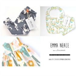 Emma Neale Handmade is a luxury babies' wear brand which celebrates all that is bold and beautiful. Modern trends, fine fabrics and regularly updated collections are combined to give Emma Neale Handmade products a fresh and exciting feel.